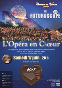 Opéra en Choeur – FUTUROSCOPE