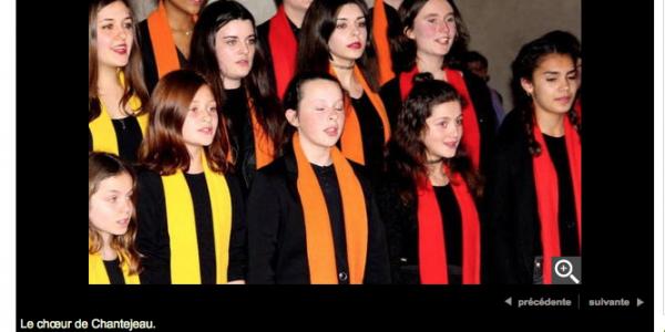 """Concert caritatif «1000 Choeurs pour un Regard"""""""