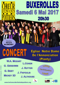 Concert de Printemps - BUXEROLLES (86)